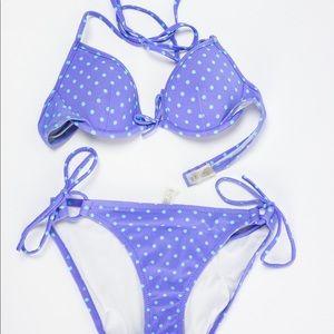 VS Purple Polka Dot Bikini